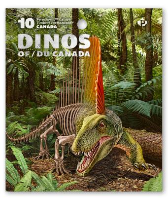 Dinos of Canada stamps and collector materials are officially released today, May 26, 20-16 and are available HERE